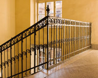 schody stary kolor żółty zdjęcia royalty free