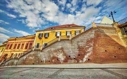 Schody w Sibiu Zdjęcia Royalty Free