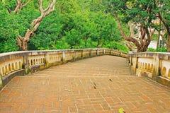 Schody W Tham Khao Luang jamie, Phetchaburi prowincja, Tajlandia Obrazy Stock