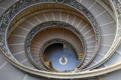 Schody Watykańscy muzea Obraz Stock