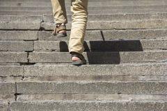 schody wspinaczkowi up Obrazy Stock