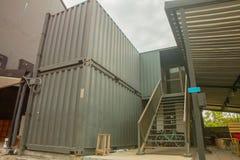 Schody zbiornika dom Obrazy Stock