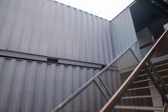 Schody zbiornika dom Zdjęcie Royalty Free