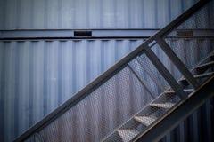 Schody zbiornika dom Fotografia Stock