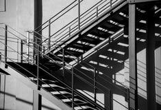 schody zewnętrzne fotografia stock