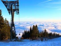 The Schoeckl. Mountain near Graz, Austria Stock Photography