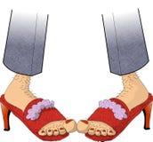 Schoeisel royalty-vrije illustratie