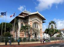 Schoelcher图书馆,堡垒de法国,马提尼克岛 免版税库存图片