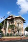 Schoelcher图书馆,堡垒de法国,马提尼克岛 图库摄影