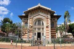Schoelcher图书馆,堡垒de法国,马提尼克岛 免版税图库摄影