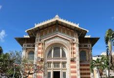 Schoelcher arkiv, Fort de France, Martinique Arkivfoto