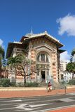 Schoelcher biblioteka, fort de france, Martinique Obrazy Stock
