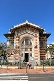 Schoelcher biblioteka, fort de france, Martinique Zdjęcie Royalty Free