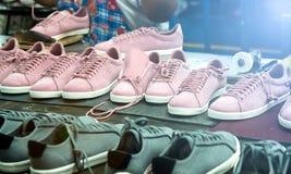 Schoen makend proces Stock Afbeelding