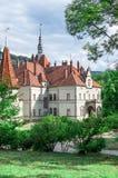 Schoenborn pałac Zakarpattia Ukraina Zdjęcie Royalty Free