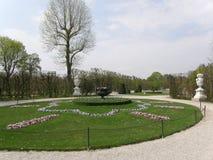Schoenbrunn公园 库存照片