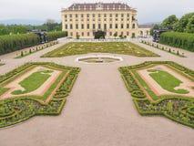 Schoenbrunn宫殿在维也纳,奥地利 2016年5月 免版税库存图片