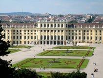 schoenbrunn维也纳 免版税库存照片