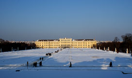 Schoenbrunn Stock Photography