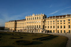 Schoenbrunn. Beautiful palace of Schoenbrunn in Vienna / Austria Royalty Free Stock Image