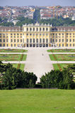 Schoenbrunn Castle, Vienna Stock Photos