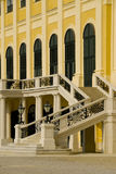 Schoenbrunn castle in Vienna, Austria. Detail of the stairs of the schoennbrunn castle in vienna, Austria royalty free stock photography