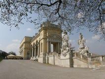 Schoenbrunn Gloriette i Wien, Österrike Royaltyfri Foto