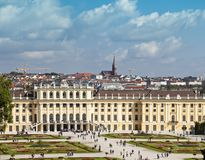 Schoenbrunn Palace Royalty Free Stock Photography
