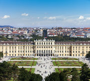 Schoenbrunn Palace vienna Royalty Free Stock Image