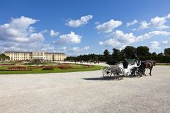Schoenbrunn Palace vienna Royalty Free Stock Photos