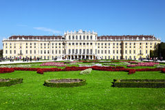 Schoenbrunn Palace in Vienna Stock Images