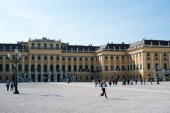 Schoenbrunn Palace in Vienna, Austria Stock Images
