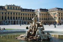 Schoenbrunn Palace in Vienna, Austria Stock Image