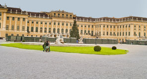 Schoenbrunn Palace, Vienna,Austria. Royalty Free Stock Photography