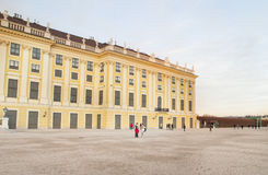 Schoenbrunn Palace, Vienna,Austria. Royalty Free Stock Photo