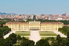 Schoenbrunn Palace  Vienna, Austria Stock Image