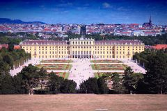Schoenbrunn Palace Royalty Free Stock Photo