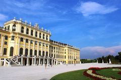 Schoenbrunn Palace, Vienna, Austria Royalty Free Stock Photography