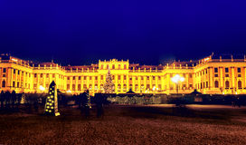 Schoenbrunn Palace in Vienna Stock Photography