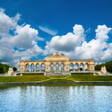 Schoenbrunn Palace in Vienna Royalty Free Stock Photography