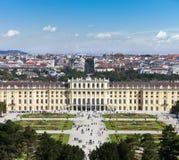 Schoenbrunn Palast Wien Lizenzfreies Stockbild