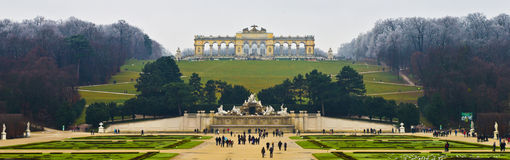 Schoenbrunn Royalty Free Stock Photography