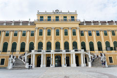 Schoenbrunn Sissi城堡-维也纳 图库摄影