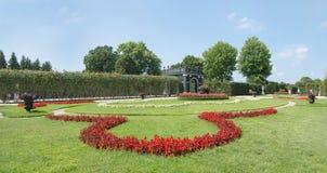 Schoenbrunn Sissi城堡-维也纳 库存照片