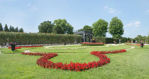 Schoenbrunn Sissi Castle - Viena Fotos de archivo