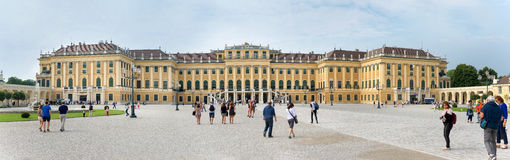 Schoenbrunn Sissi Castle - Viena Fotografia de Stock Royalty Free