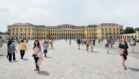Schoenbrunn Sissi Castle -  Vienna Stock Photography