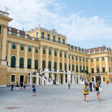 Schoenbrunn Sissi Castle -  Vienna Royalty Free Stock Photo