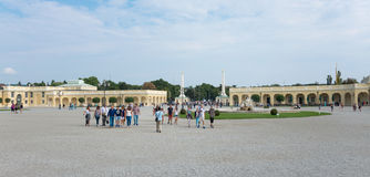 Schoenbrunn Sissi Castle - Vienne Photo libre de droits