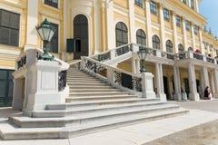 Schoenbrunn Sissi Castle - Wien Royaltyfri Bild